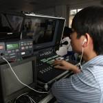 Quay phim và truyền trực tiếp lên màn led