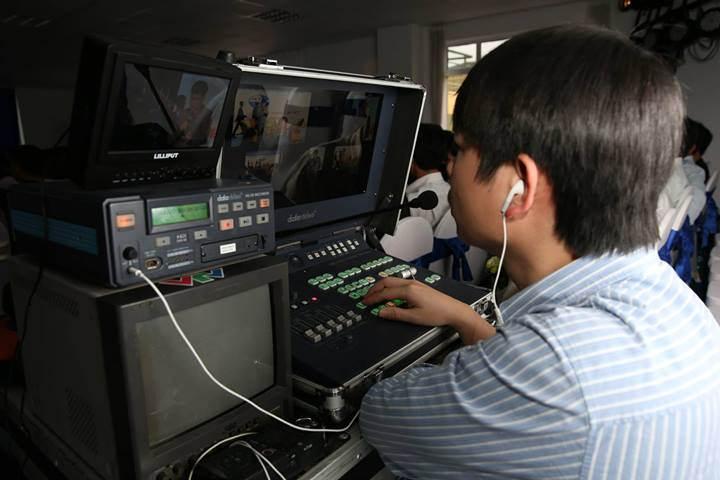 live Quay phim và truyền trực tiếp lên màn led